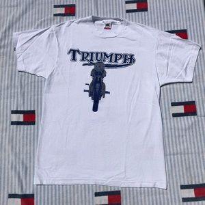 Vintage Triumph Motorcycle short sleeve shirt